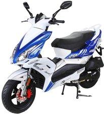 Actionbikes Matador 125 ccm blau/weiß