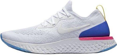 Nike Epic React Flyknit white/racer blue/pink blast/white