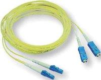 Elo Tyco LWL Kabel Duplex LC/SC 62,5/125 OM1 2m
