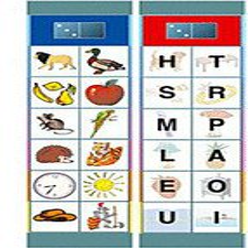 Oberschwäbische Magnetspiele Set SK2: Buchstaben und Wörter