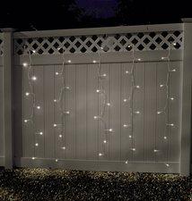180 LED Lichtervorhang