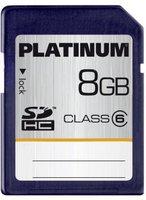 Platinum SDHC Card Class 6 (8GB)