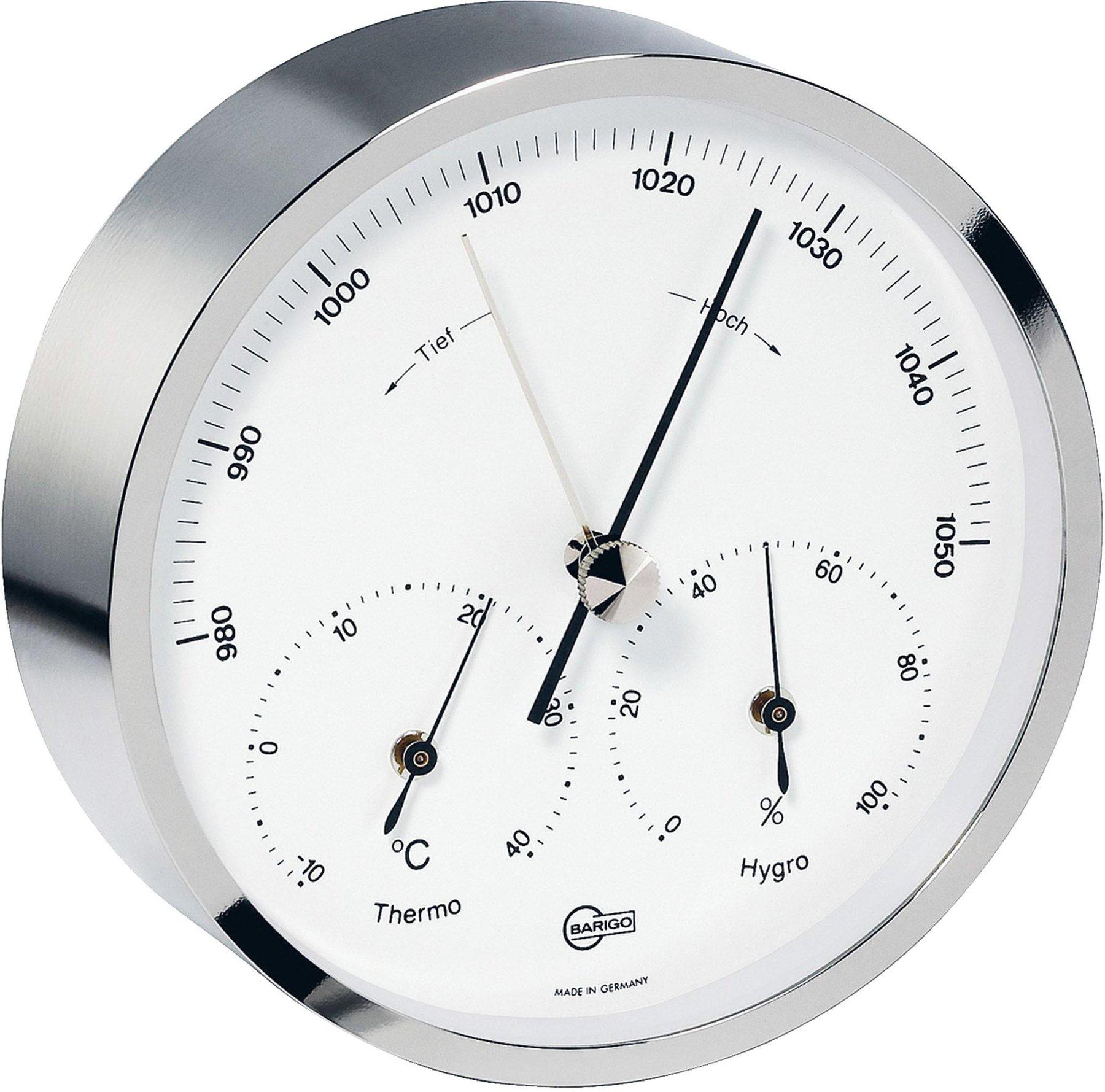 Barigo hochwertige maritime Wetterstation mit Barometer Thermometer Hygrometer Bootsport Bootsteile & Zubehör