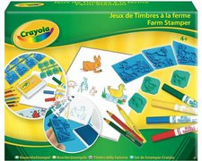 Amigo 53113 Crayola Standard Bauernhofstempel