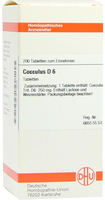 DHU Cocculus D 6 Tabletten (200 Stk.)
