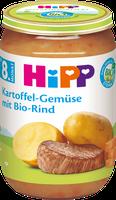 Hipp Kartoffel-Gemüse mit Bio-Rind