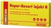 Hevert Hepar Hevert Injekt N Ampullen (100 Stk.)