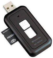 Verbatim 47129 USB Pocket Card Reader Memory Stick & MS Duo