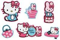 Decofun Hello Kitty Fashion Miniwanddekoration 24 Stück (23860)