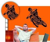 C. Kreul Wandschablone Motorrad
