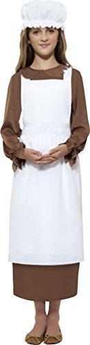 Mittelalterliche Magd Kinder Kostüm