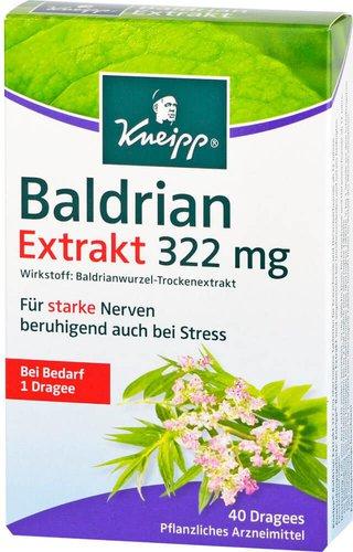 Kneipp Baldrian Extrakt Extra Stark Drag. (PZN 4097717)