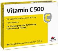 Wörwag Vitamin C 500 Tabletten (20 Stk.)
