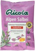 Ricola Schweizer Halsbonbon Salbei ohne Zucker (75 g)