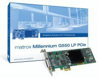 Matrox Millennium G550 LP (PCIe)