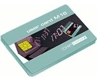 SCM Chipdrive Time Recording User Card