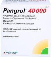 Berlin-Chemie Pangrol 40000 Kapseln Magensaftres. (200 Stück)