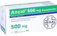 Hexal Ancid 500 mg Kautabl. (100 Stück)