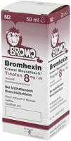 Krewel Bromhexin Tropfen 8mg/ ml (50 ml)