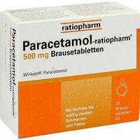 ratiopharm Paracetamol 500 Brausetabl. (20 Stück)