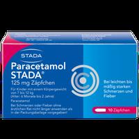 STADA Paracetamol 125 Saeuglings-Suppos. (10 Stück)