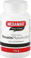 Megamax Kreatin Monohydrat 100% Megamax Pulver (125 g)
