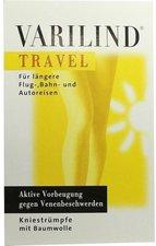 Varilind Travel Kniestrumpf Baumwolle XS weiss
