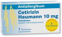 Heumann Cetirizin 10 mg Filmtabl. (7 Stück)