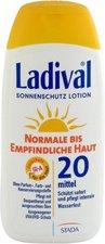 Ladival Normale / empf. Haut Sonnenschutz Lotion LSF 20 (200 ml)