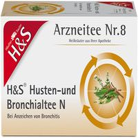 H&S Husten-und Bronchialtee N (20 Stück)