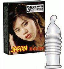 Secura Japan Rubber Kondome (3 Stk.)