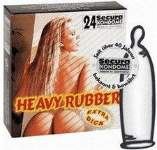 Secura Heavy Rubber Kondome (24 Stk.)
