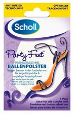 Scholl Party Feet unsichtbare Gel-Polster (2 St.)