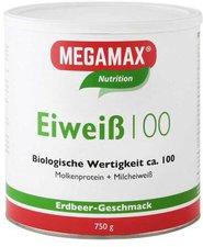 Megamax Eiweiss 100 Erdbeere Pulver (750 g)
