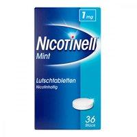Novartis Nicotinell Lutschtabletten 1 Mg Mint (36 Stk.)