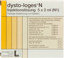 Dr. Loges Dysto N Injektionsloesung Ampullen (5 x 2 ml)