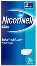 Novartis Nicotinell Lutschtabletten 2 Mg Mint (36 Stück)