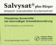 Ysatfabrik Salvysat Plus Buerger Filmtabletten (30 Stück)