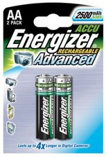 Energizer 2x Rechargeable AA 2450 / HR6