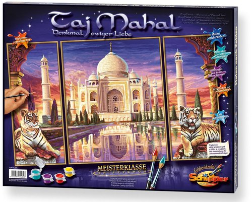 Schipper Malen nach Zahlen Taj Mahal