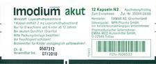 EMRA-MED Imodium Akut Kapseln (6 Stück)
