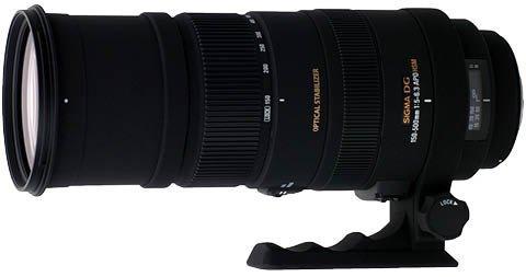 Sigma 150-500mm f5.0-6.3 DG OS APO HSM Canon