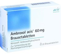 Acis Ambroxol 60mg Brausetabletten (20 Stk.)