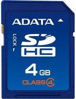 A-Data SDHC Card Super 4 GB Class 4