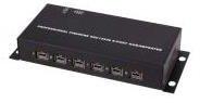 Exsys FireWire 8 Port Hub(EX-6684)