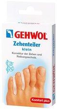 GEHWOL Polymer Gel Zehenteiler klein (3 St.)