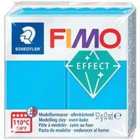 Fimo Soft transparentfarben - transparentblau 56g